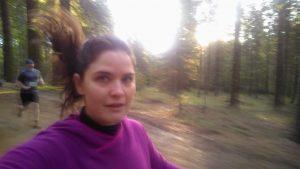 yosemite half marathon me running
