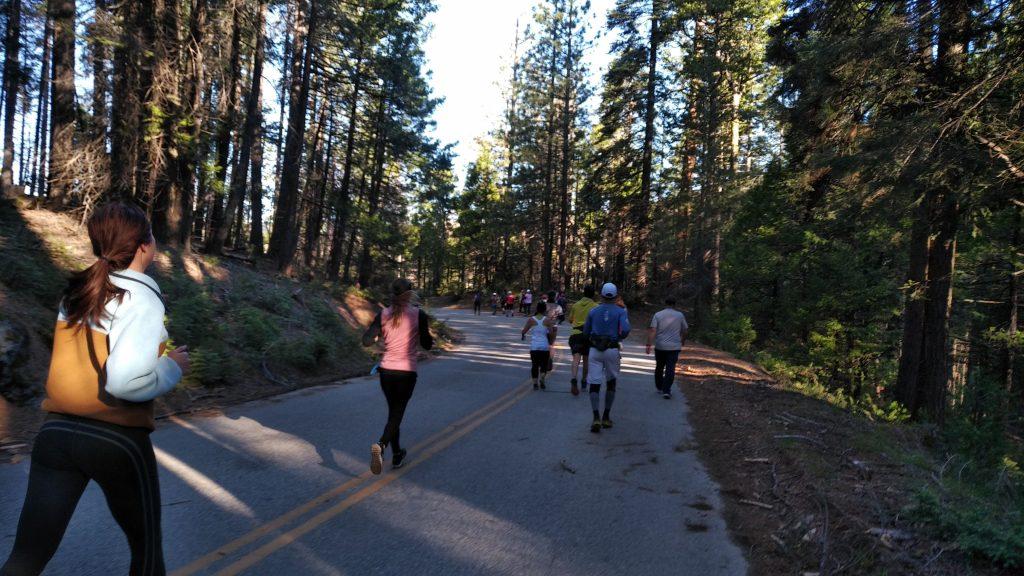 yosemite half marathon view