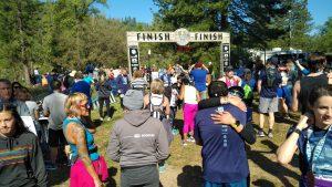 yosemite half marathon finish line