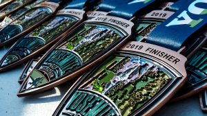 yosemite half marathon finisher medal