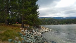 yosemite half marathon expo at bass lake