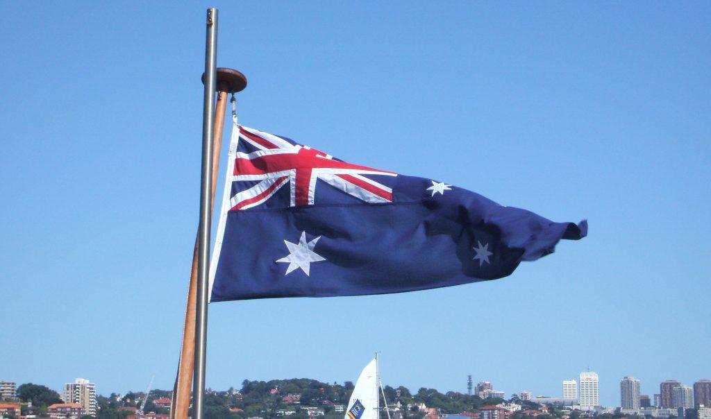 studying Abroad Austalian Flag