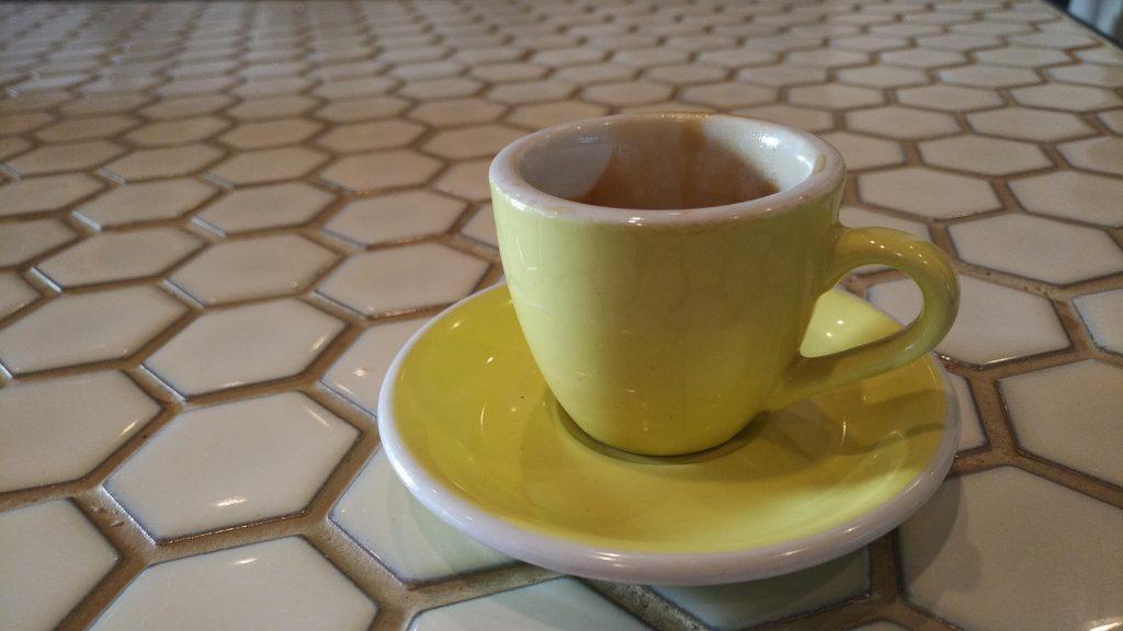 run with amber coffee