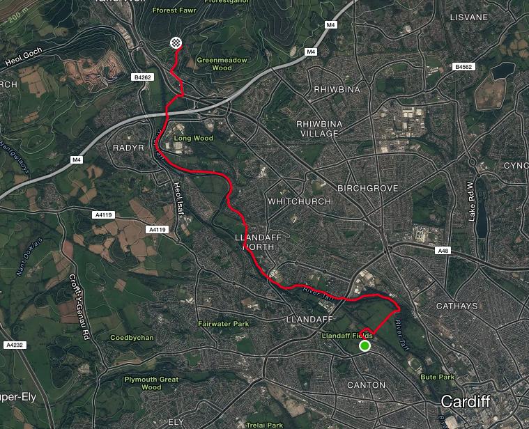 Cardiff bike ride