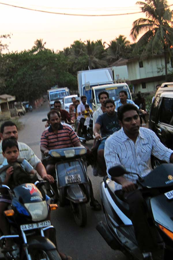 india transportation run with amber