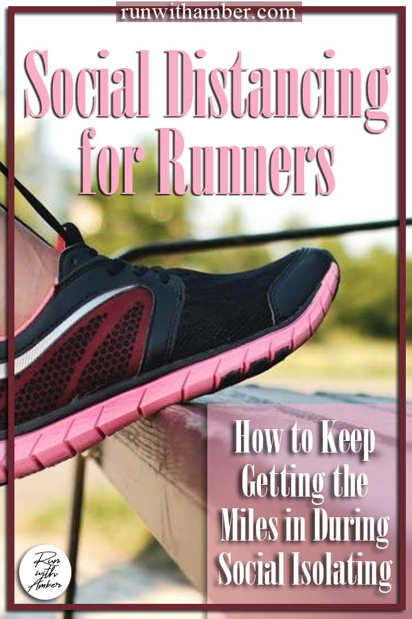 social Distancing for runners