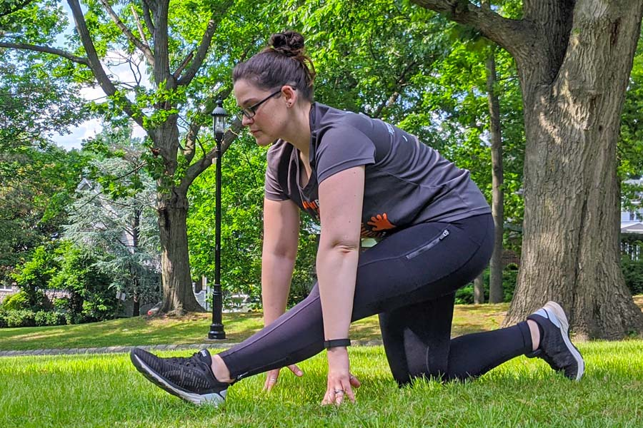 stretches for runners run with amber