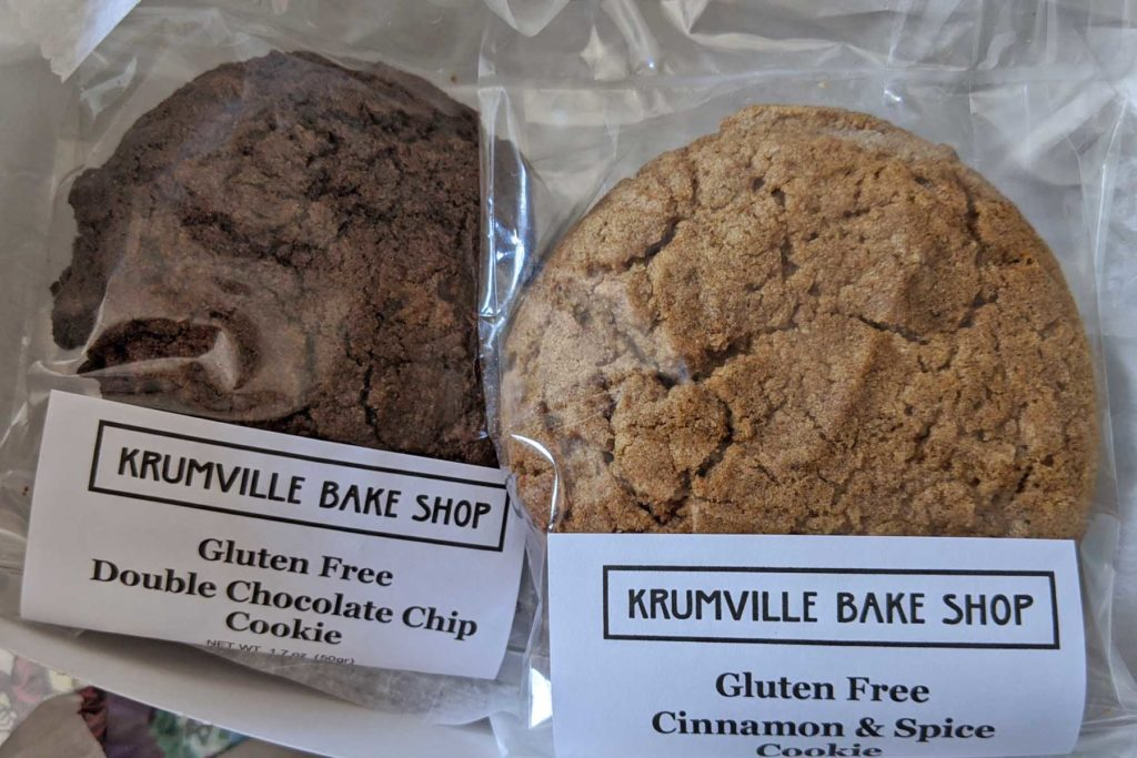 krumville bake shop cookie