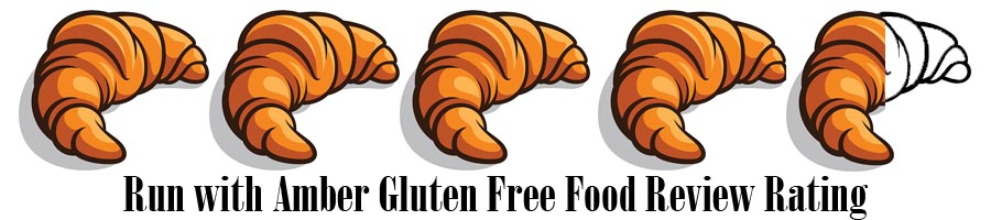 run with Amber gluten free rating